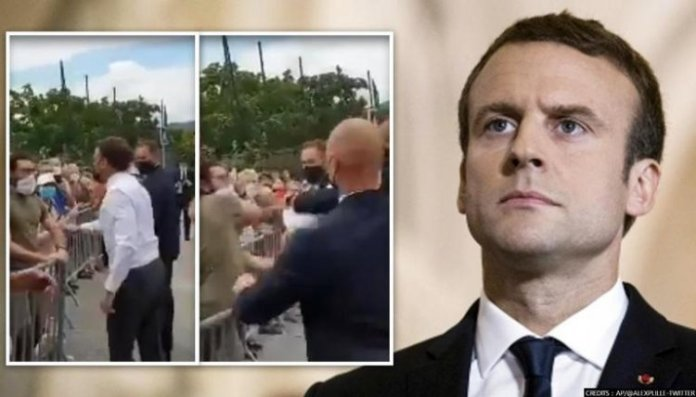 French court gives man who slapped Macron 4 months in prison