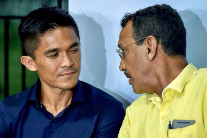 Subrata Bhattacharya feeling proud by son -in -law Sunil Chetri