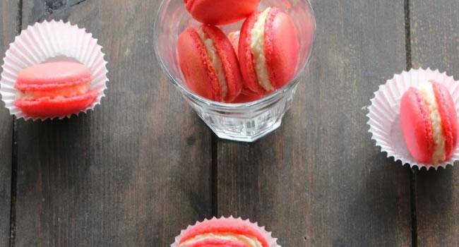 como hacer macarrones dulces