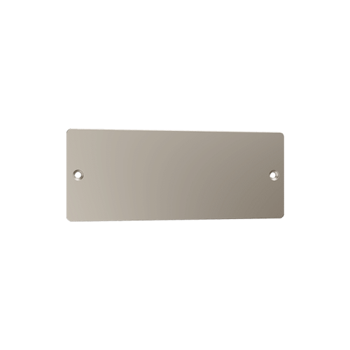 Satin Nickel Suva Name Plate