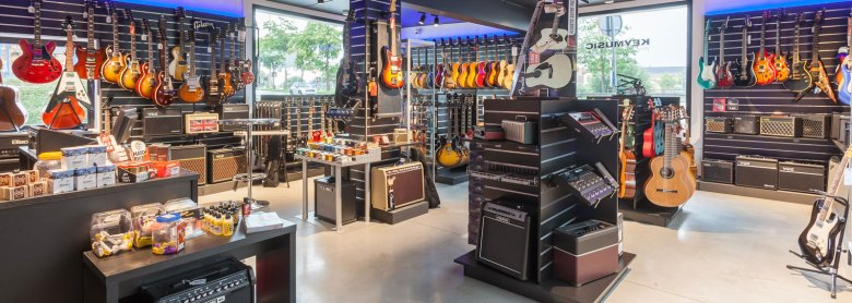 keymusic bruges | music shop, guitar store, musical instruments