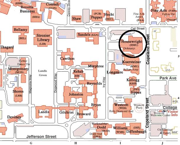 Campus Northwestern University Ohio Map