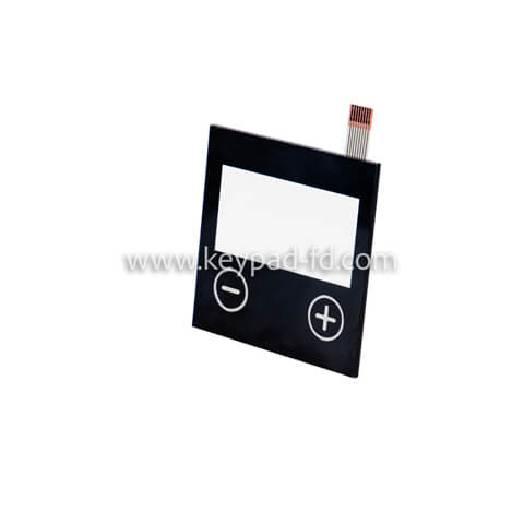 Capactive touch membrane switch