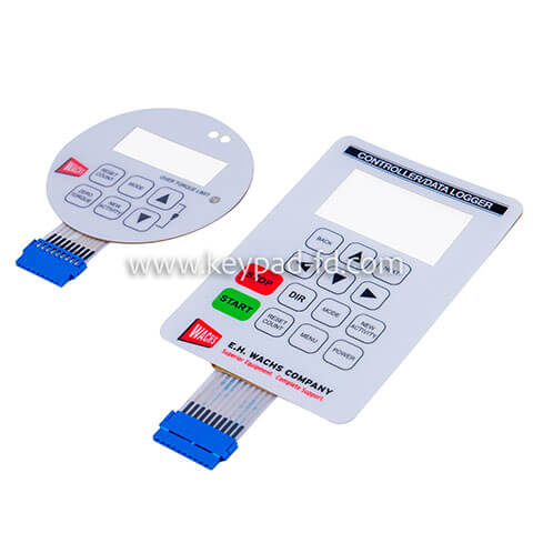Waterproof membrane switch