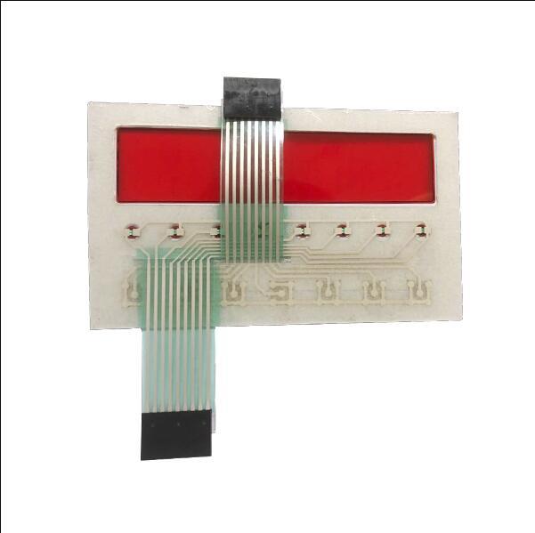 LED membrane keyboard