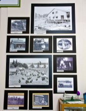 Key Peninsula Historical Society & Museum Cackleberries Humbleberries & Hooch Exhibit, Early Farming on the Key Peninsula