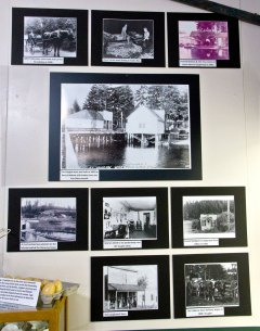 Key Peninsula Historical Society & Museum Cackleberries Humbleberries & Hooch Exhibit, Stores, Fishing and Oyster Farms