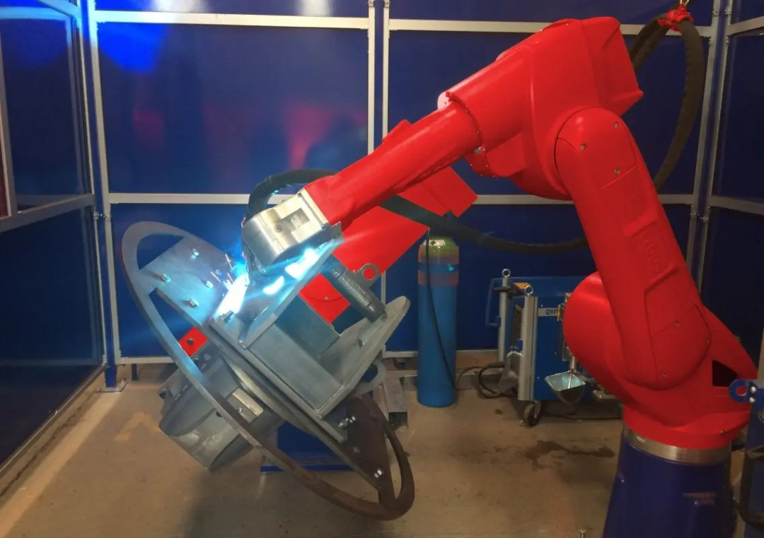 Key Plant welding automation robot