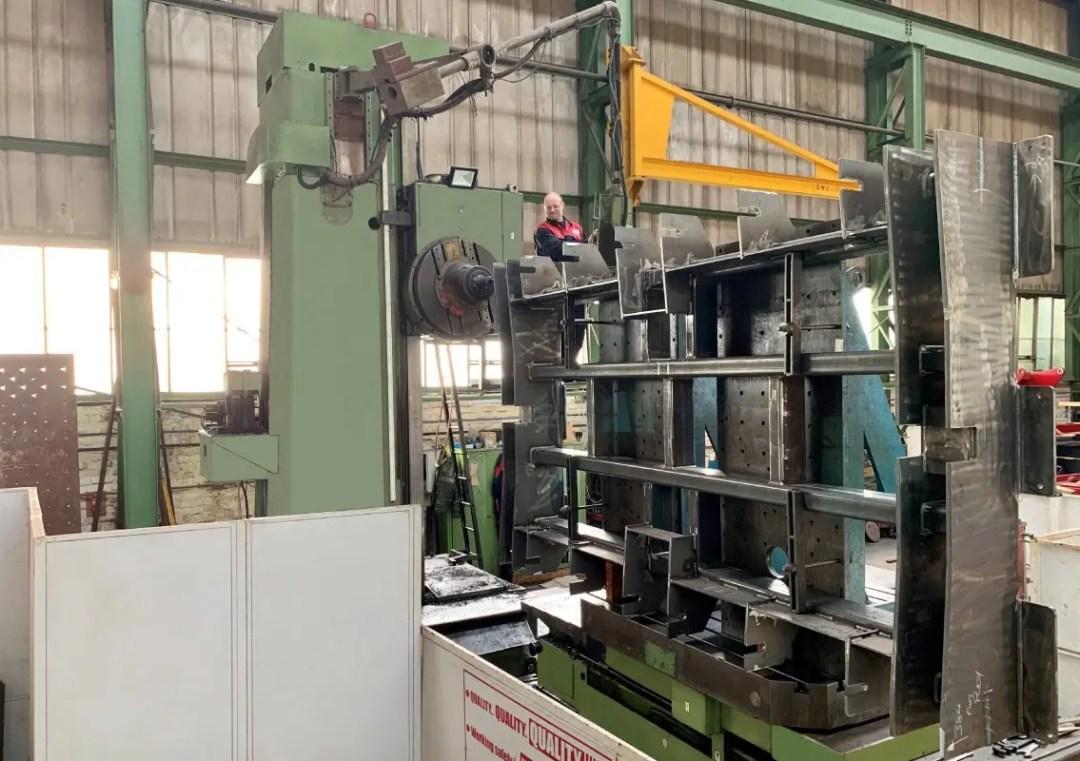 Key Plant machining