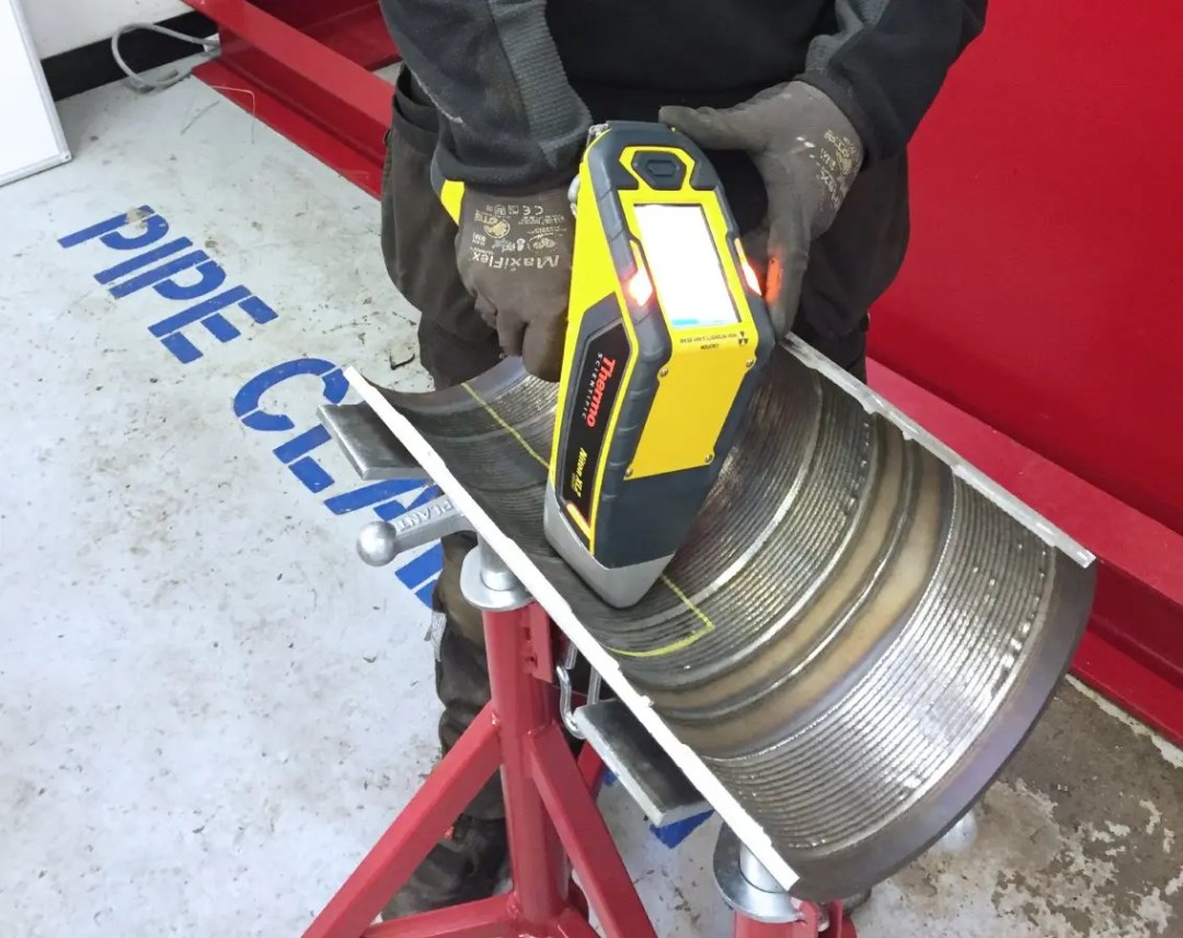 Key Plant welding and cladding testing