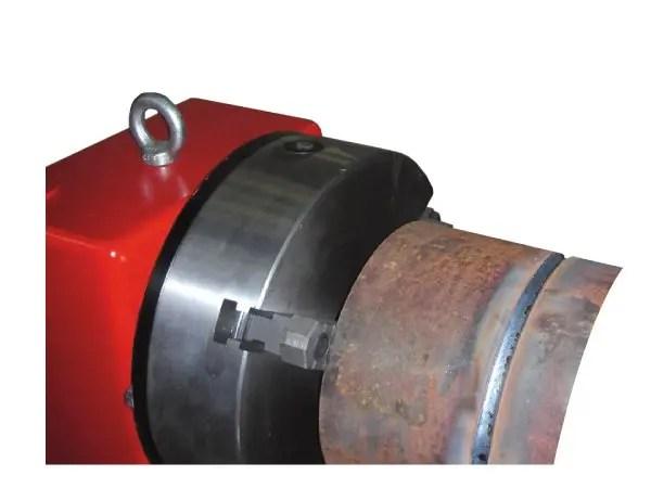 machine 3 jaw gripper welding chuck