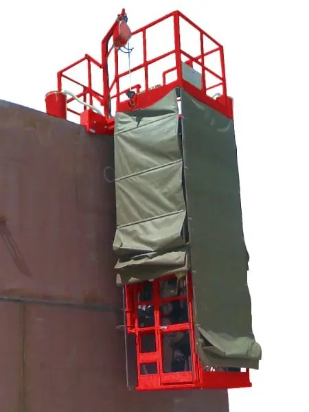double sided Tank Girth welder for Storage Tank Fabrication