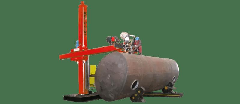 Elliptical turnkey welding system
