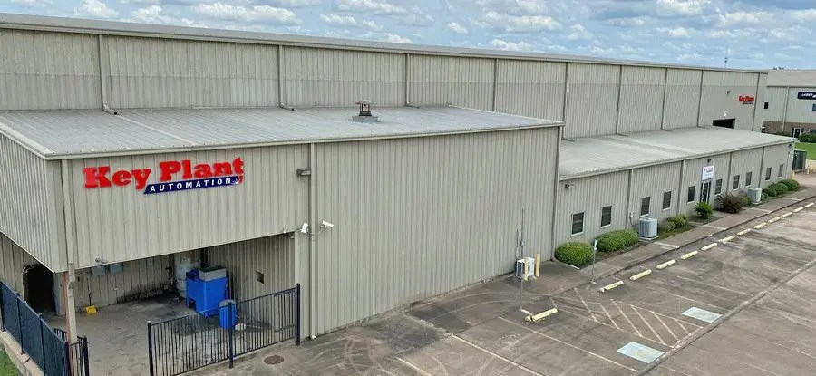 Key Plant USA facility in Houston, Texas offering welding automation and material handling equipment