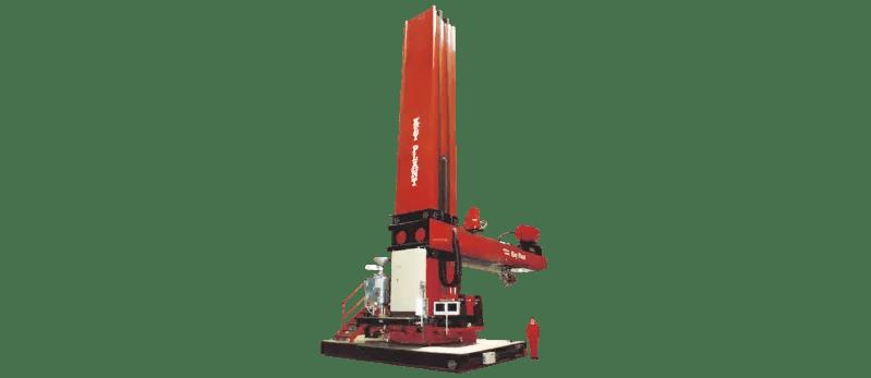 Largest welding column and boom manipulator in Europe