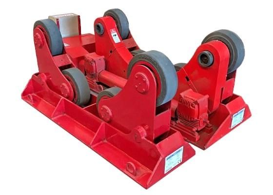 10 ton self aligning rotator / turning roll used equipment