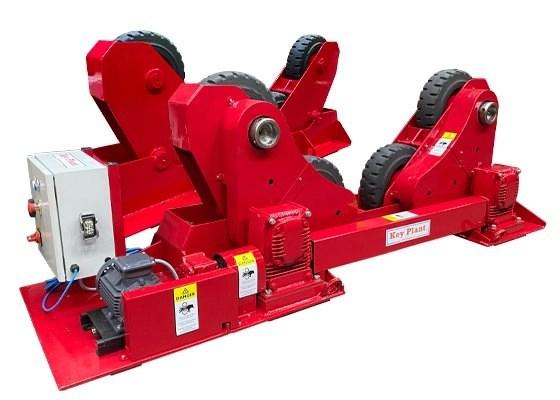 20 ton self aligning rotator / turning roll used equipment