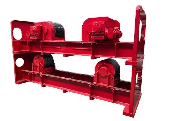 Used 100 Ton welding rotator / turning roll