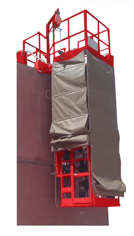 double sided automatic girth welder for storage tank fabrication