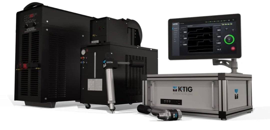 Key Plant K-TIG keyhole tig welding 1000 Evolve system