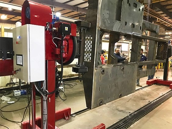 Port-a-lift headstock & tailstock