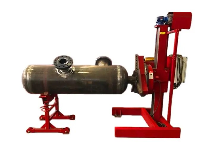 Rent pipe fabrication equipment