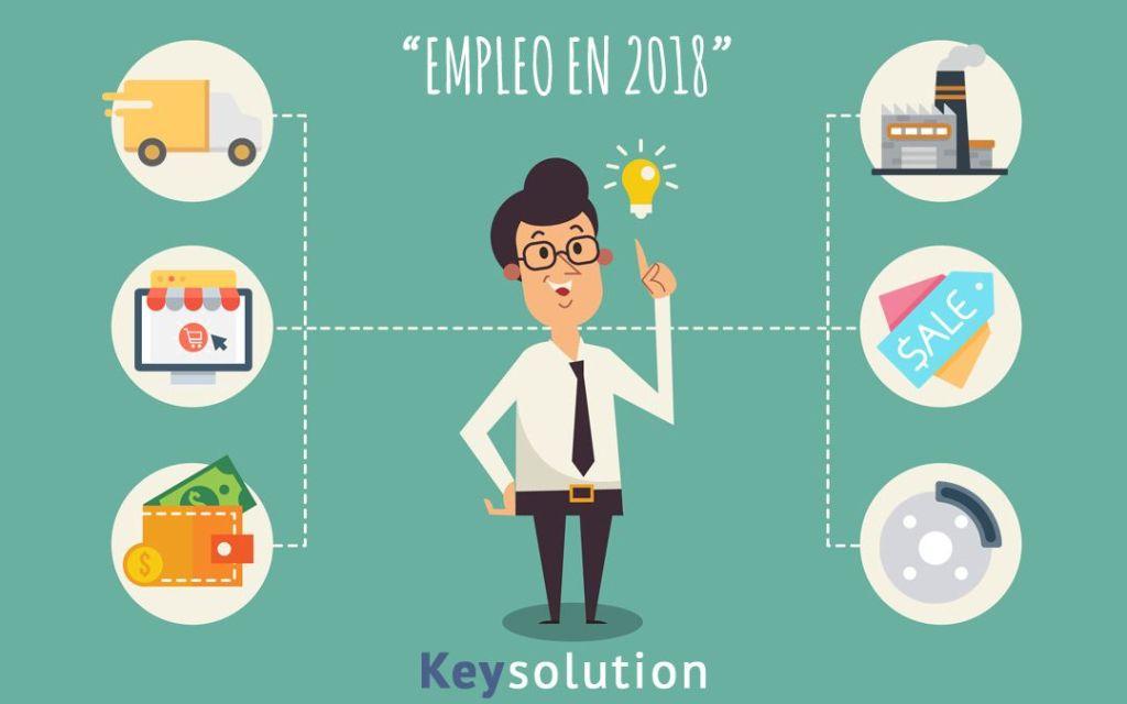 empleo en 2018 donde va a estar
