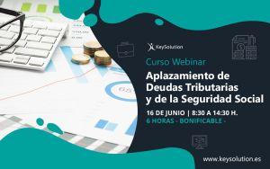 Curso sobre Aplazamiento de Deudas Tributarias webinar