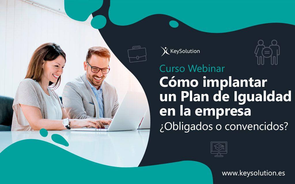 Webinar Cómo implantar un Plan de Igualdad en la empresa