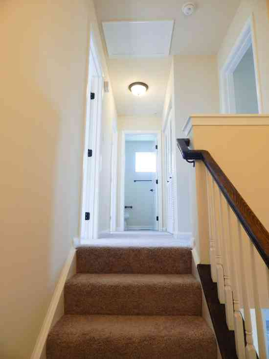 Staircase Second Level Hallway Ryan Homes Wexford