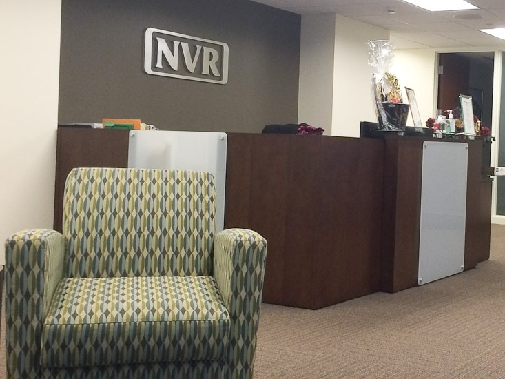 NVR Mortgage Office Waiting Room