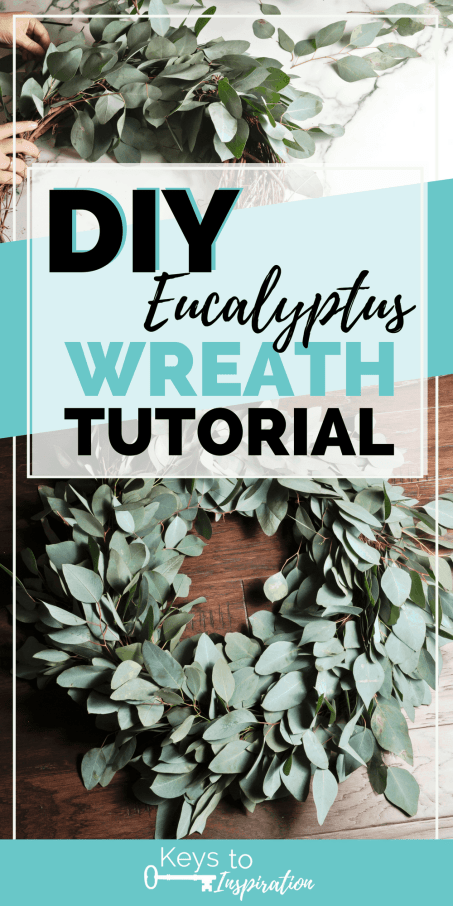 Eucalyptus wreath making