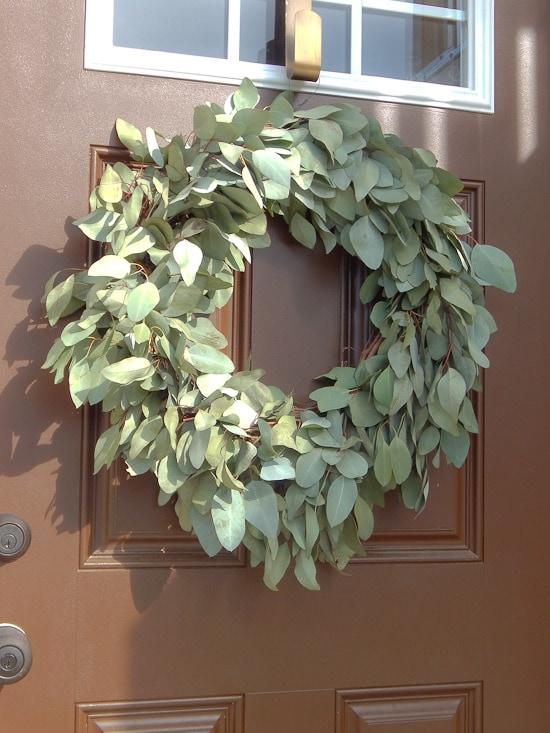 Diy Eucalyptus Wreath Tutorial Keys To Inspiration