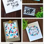 5 Fun Wall Art Printables {Free Printable}
