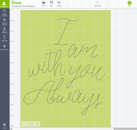 Cricut Explore Essentials: How to Make Modern Calligraphy