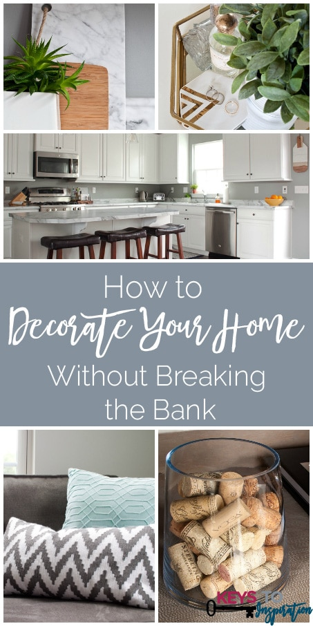 Nice She Shares Some Great Tips For How To Decorate Your Home On A Budget! Learn