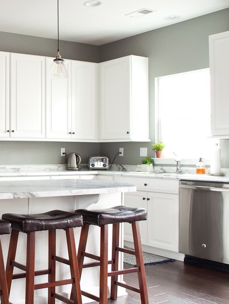 She shares her list of updates to transform her house into a home - this is the kitchen list!