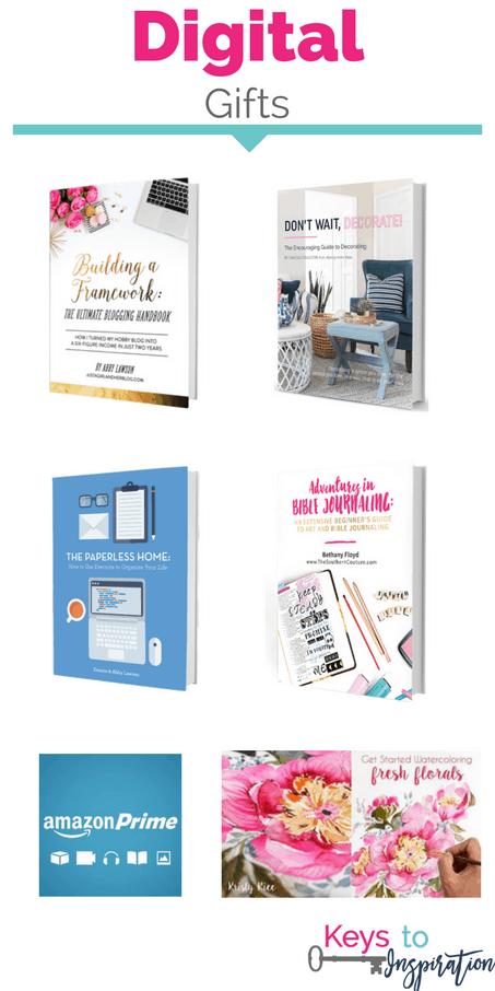Last Minute Digital Gift Ideas Keys To Inspiration