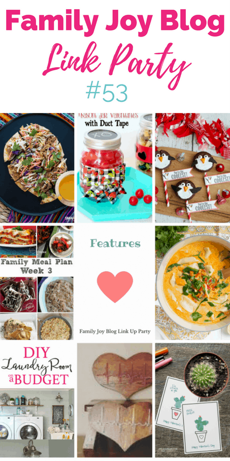 Features from the Family Joy Blog Link Party #53. Great and creative ideas!