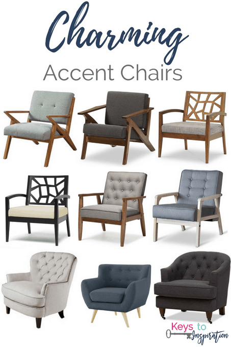 Get The Modern Classic Look For Less! Affordable Charming Accent Chairs For  Your Home. Our Living Room ...