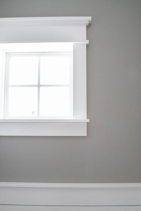 DIY Modern Craftsman Window Trim