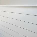 DIY Modern Shiplap Wall Treatment