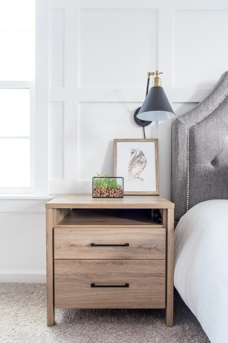 How to get rid of nightstand cable clutter keys to Things to use as nightstands