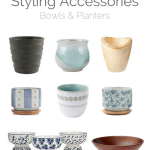 Collected Styling Accessories – Bowls & Planters