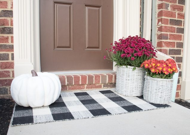 A Simple And Modern Fall Front Porch 187 Keys To Inspiration