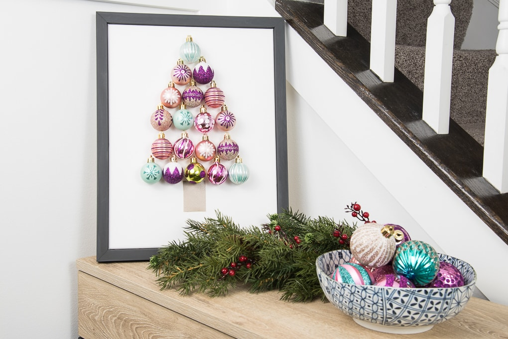 Diy christmas tree ornament art keys to inspiration