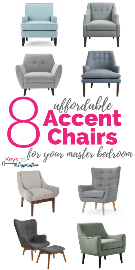 8 Affordable Accent Chairs for Your Master Bedroom » Keys To ...