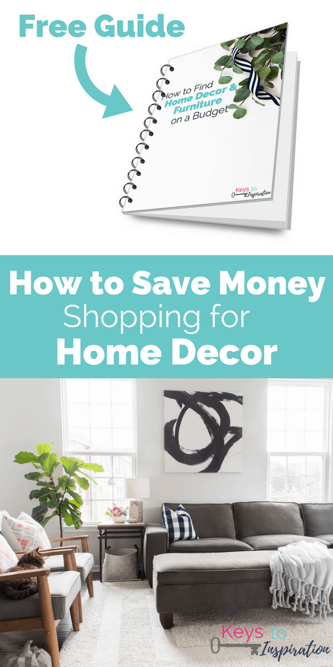 How To Save Money Shopping For Home Decor. Learn Where To Shop To Find The