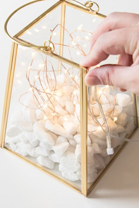Diy Fairy Light Lantern Keys To Inspiration