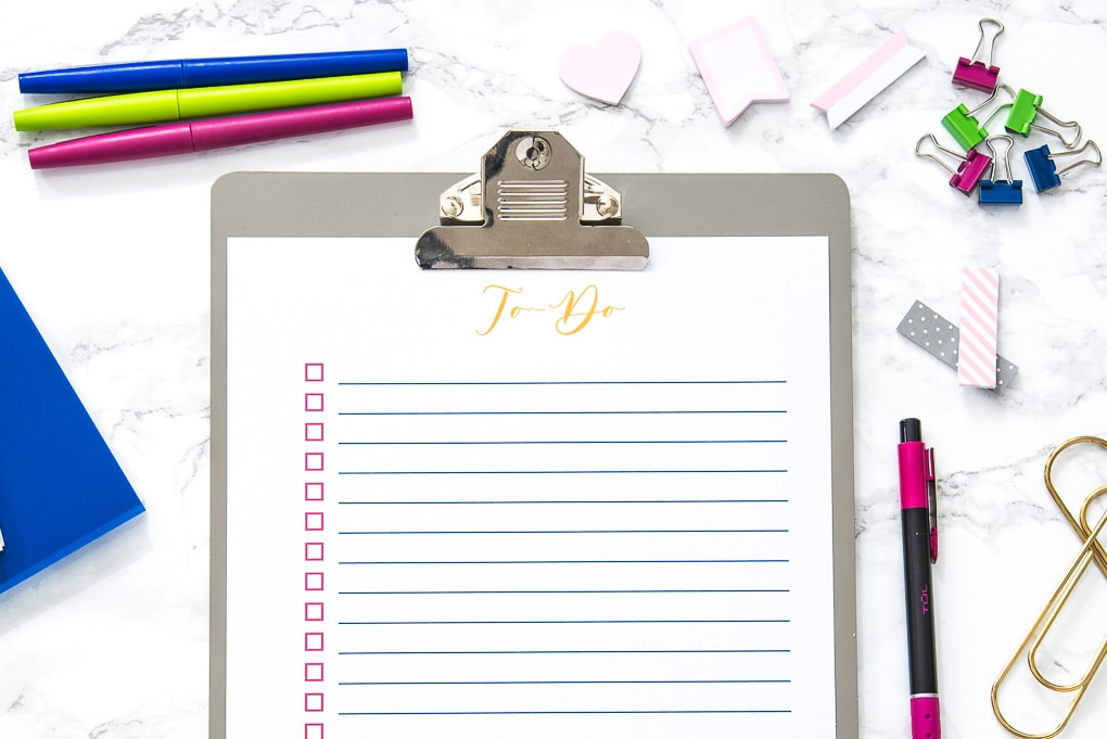 photograph regarding To Do List Free Printable named Free of charge Printable In the direction of-Do Record » Keys Towards Drive